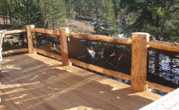 cabin railings 005